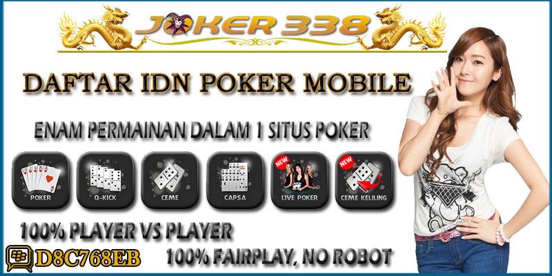 Daftar IDN Poker Mobile