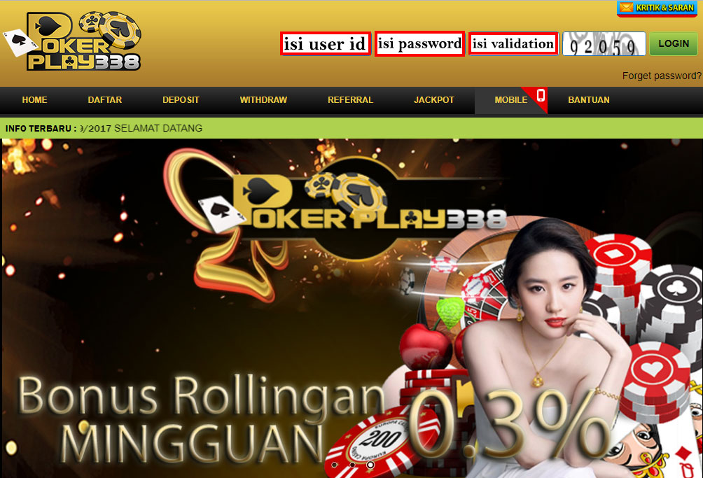 halaman Pokerplay338