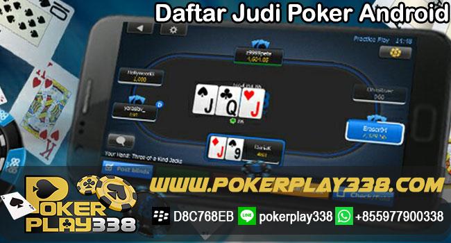 Daftar-Judi-Poker-Android